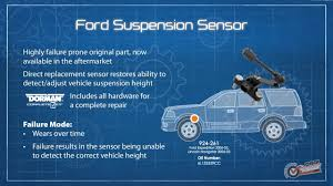 Check Suspension Light On 2006 Ford Expedition Suspension Ride Height Sensor