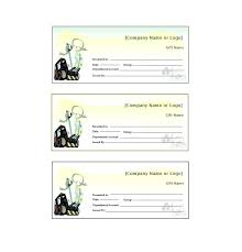 free gift certificate template voucher sle sles templates certificates