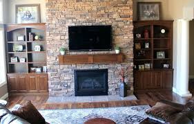 fireplace built in shelving 6 via the sweetest digs ins