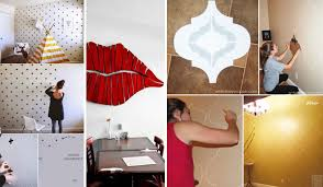 Small Picture 26 DIY Cool And No Money Decorating Ideas for Your Wall