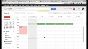 Schedule Calender How To Create A Weekly Schedule In Google Calendar From Tell Your Time