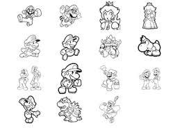 Piccoli Disegni Da Colorare Gratis Di Super Mario Bros Disegni Da