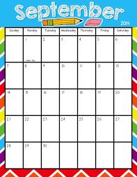 Printable Calendars For Teachers Teacher Laura Printable
