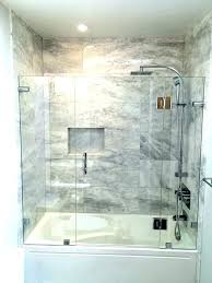 steam shower jacuzzi whirlpool tub combo home depot bathtubs and showers glass doors brushed nickel enclosures