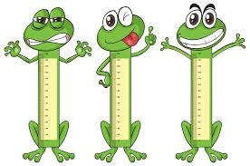 Height Measurement Chart With Frog Characters Download