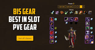Wow Class Chart Best In Slot Bis For Classic Wow Pve Gear Guide