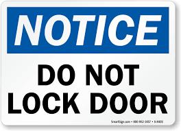 Lock Door Sign Photos of ideas in 2017 Page 5 of 11 Budasbiz