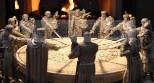 Resultado de imagen de mesa redonda del rey arturo