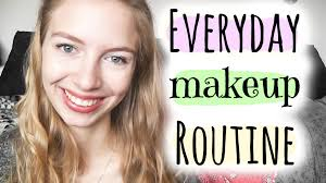 my everyday makeup routine everyday makeup routine tutorial for