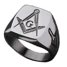 masonic ring clic signet style