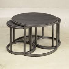 furniture west elm glass table round nesting tables lucite