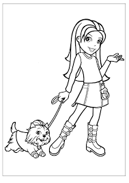 Small Picture Free Printable Polly Pocket Coloring Pages For Kids