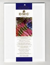 Dmc 2018 Needlework Threads Printed Color Card