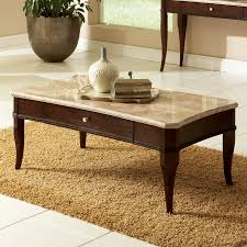 steve silver company mille merlot cherry rectangular coffee table