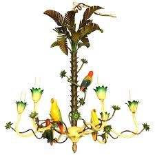 bird chandelier