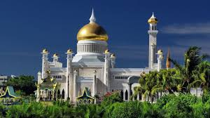4 sultan omar ali saifuddin mosque hd wallpapers backgrounds