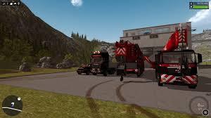 Construction Simulator 2015 Liebherr Ltm 11200 9 1 Man Tgx Ltf Construction Simulator 2015 Moddownload