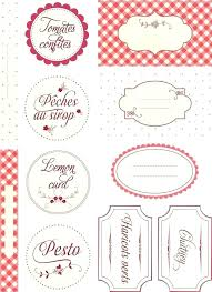 Recipe Labels Templates Free Printable Label Templates For Jars Canning Jar Labels