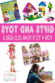 4 Year Old Birthday Girl Gift Ideas Dddy Best Ts for Girls In