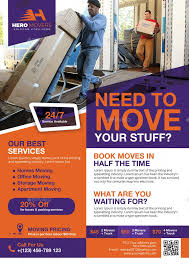 Moving Flyer Template This Flyer For Promoting Moving Services Company All Text