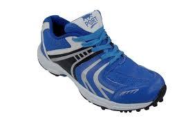 port men s raze blue synthetic leather cricket sports shoes brzr