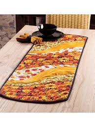 Table Runner Patterns Impressive EZ Breezy Quilt As You Go Table Runner Place Mat Pattern