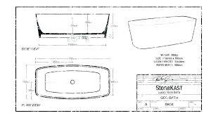 average bathtub size bathroom for standard dimensions in cm feet india