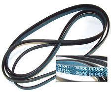 kenmore dryer belt. 341241 new oem spec heavy duty made in usa whirlpool kenmore dryer belt 92 f