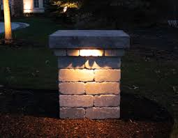 image of outdoor landscaping lights