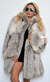 fox furs arctic royal saga fox fur coat