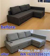 qoo10 ikea friheten sofa cover