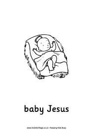 Small Picture Free Printable Coloring Pages Baby Jesus baby jesus coloring