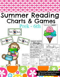 Summer Book Reading Chart Summer Reading Activities Planning Playtime