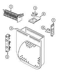 parts for crosley cdeta dryer com 01 heater parts for crosley dryer cde20t6a from com