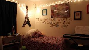 Unique Tumblr Bedrooms With Fairy Lights Design Inspiration