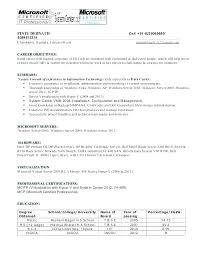 Windows System Administrator Resume – Resume Ideas Pro
