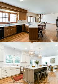 Cobblestone Kitchen Floor Remodelaholic Before After From Dated 1980s Renovation To