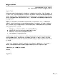 Cover Letter For Chartered Accountant Resume Coverletter100 Sample Internship Cover Letter Resume Share This 100a 53