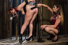 Lesbian first bondage and submittion