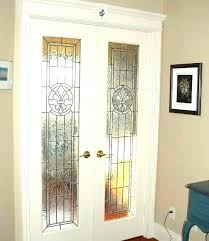 stained glass french door stained glass patio