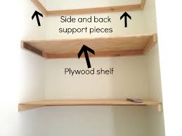 diy floating shelves tutorial by designer trapped in a lawyers body wwwdesignertrapped build floating