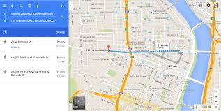 how to get google maps walking directions