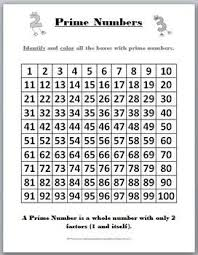 Prime Composite Chart 100 Image Result For Prime Numbers On A 100 Chart Prime