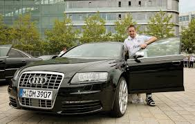 photo of Franck Ribéry Audi  - car