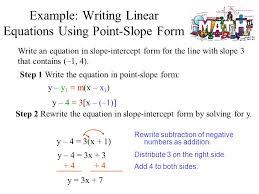 point slope equation solver talkchannels