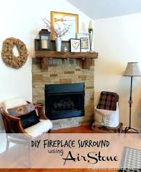 diy fireplace surround fireplace surround easy diy wood fireplace surround