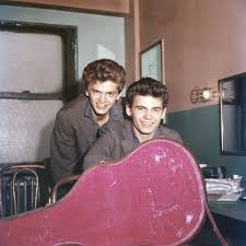 Everly was contacted with the help of everly brothers park and longtime bearden council the park is being named after the noted brothers because the family lived and worked near the park site along. 40 Beautiful Pics Of The Everly Brothers As Young Men In The 1950s And 60s Vintage Everyday