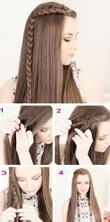 easy hairstyles for long hair side braid easy hairstyles for long hair zchbamj