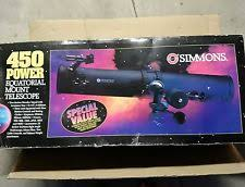 simmons telescope 6450. simmons 450 power equatorial mount telescope 6450 p