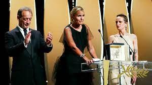 French shock-fest 'Titane' wins Palme d ...